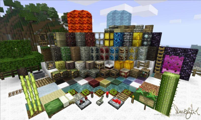 [32x][1.8 Beta] Decraftik v1.7 *Updated to 1.8 бесплатно