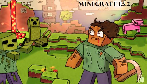 Скачать Minecraft 1.5.2 клиент + сервер
