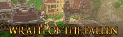 Карта Wrath of the fallen для Minecraft 1.5.1