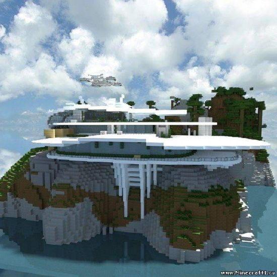 Скачать карту Дом железного человека для Minecraft 1.5.2