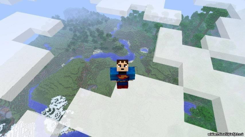 Superheroes Unlimited мод для minecraft 1.5.2
