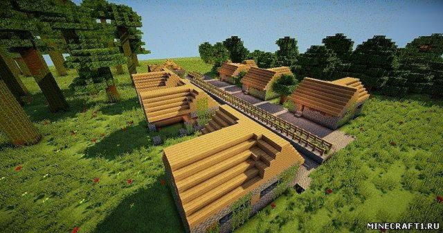 Карта The 6 Enviroments Survival Games Map для Minecraft 1.6.2