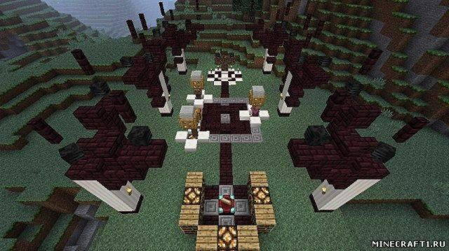 Карта Shadow Of Israphel Full World Recreation для Minecraft 1.6.2