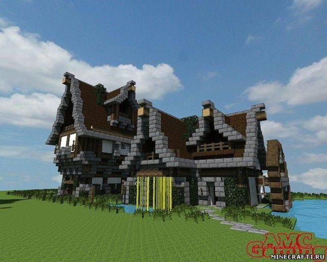 Скачать карту Fantasy Building Bundle для Minecraft 1.5.2
