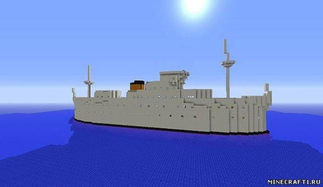 Карта Freebuild Ship для Minecraft