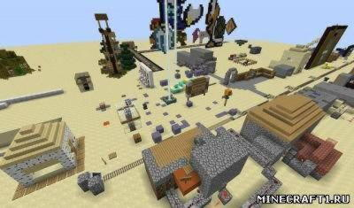 Карта для minecraft Testing world