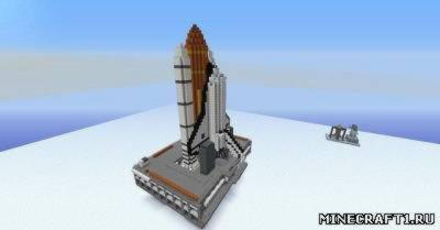 Карта для minecraft Space Shuttle