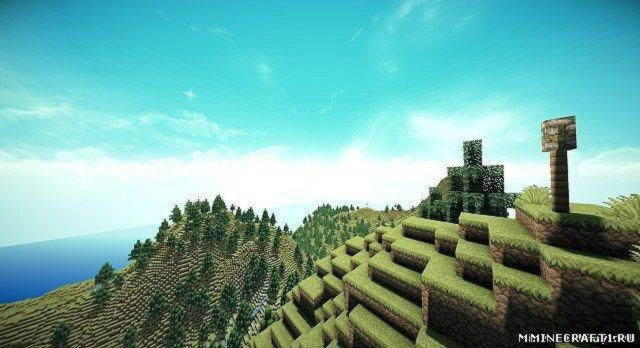 "Карта ""PLATTELIAN MOUNTAINS MAP"" ДЛЯ MINECRAFT"