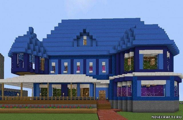 Карта для minecraft  Victorian House new