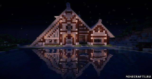 Карата Old style house для Minecraft