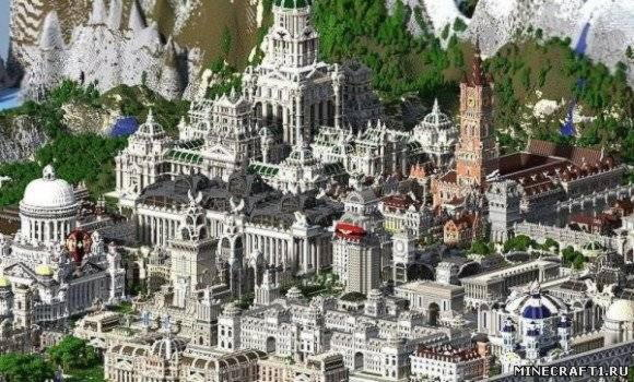 Карта для minecraft Imperial City
