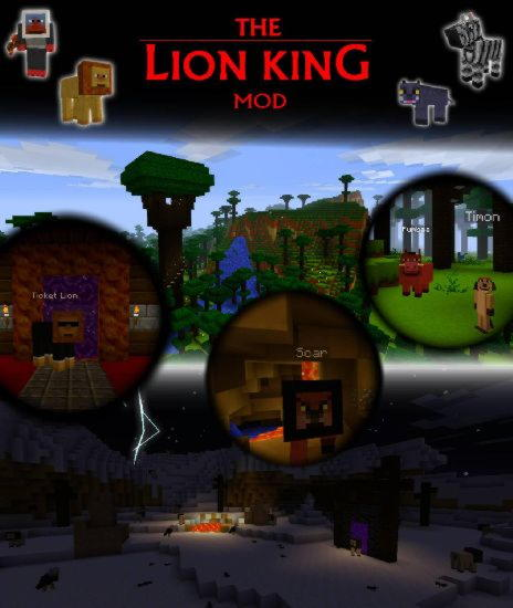 The Lion King Mod! [1.2.5]