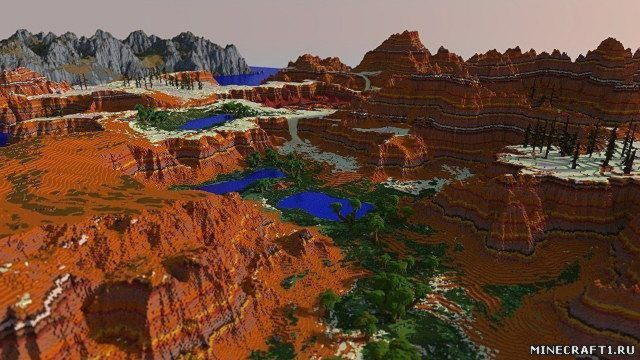 Lands of Luvem Map 1.7.9  - карта для Minecraft