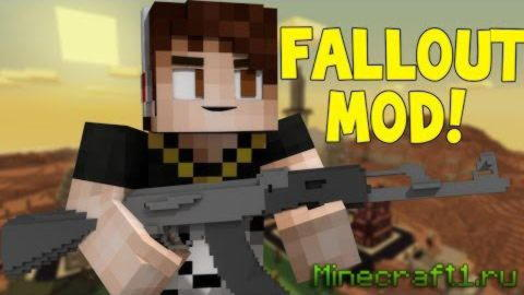 Мод The Fallout для minecraft 1.7.10