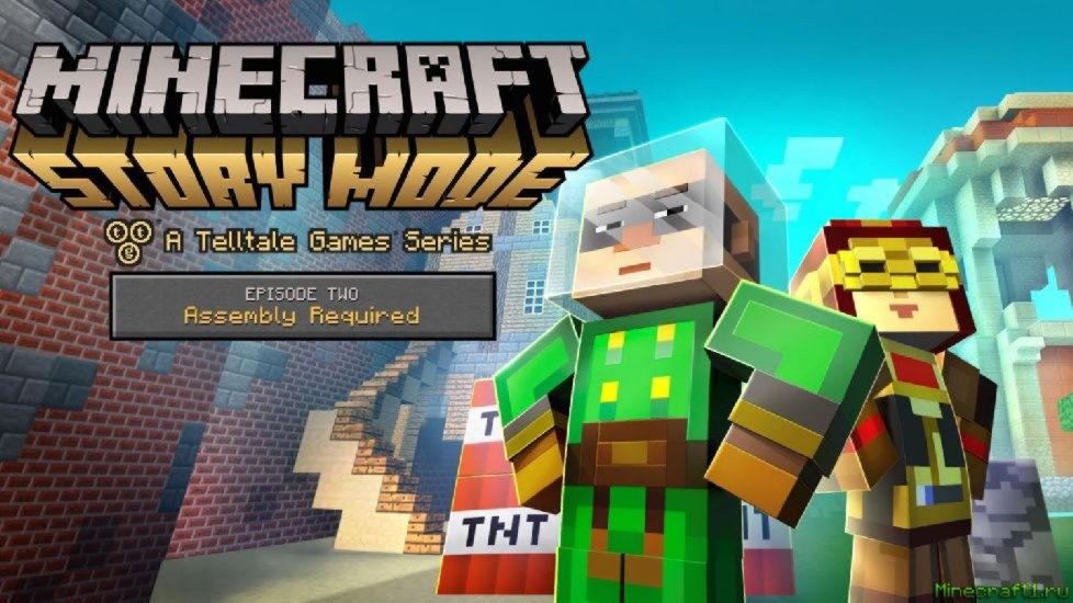 Скачать Minecraft: Story - Mode Episode 2 [Torrent]