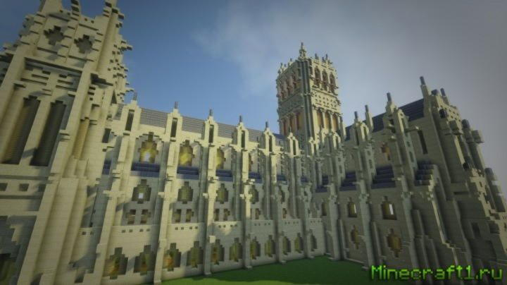 Скачать карту Washington National Cathedral для minecraft