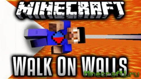 Карта Flipped: Walk On Walls для Minecraft