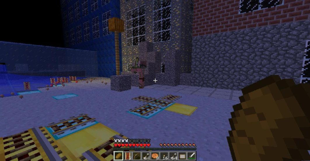 Left 4 Dead 2 Minecraft_MAP