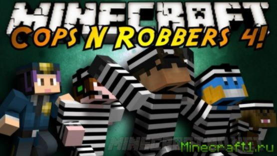 Карта Cops and Robbers 4: High Security для minecraft