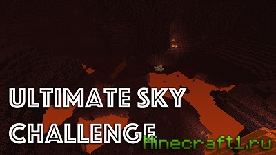 Карта на выживание The Ultimate Sky Land Challenge для Minecraft