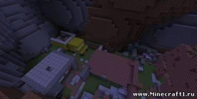 Скачать карту Зомби Апокалипсис  для  Minecraft 1.4.7