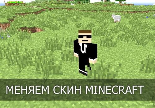 Как изменить скин в Minecraft