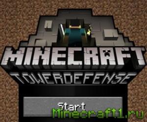Скачать игру Minecraft Tower Defense